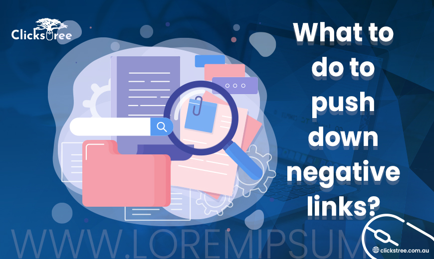 What-to-do-to-push-down-negative-links